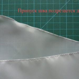 московский шов, как шить