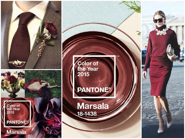 модные цвета 2016,Marsala,марсала