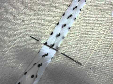 изготовление косой бейки простым способом
