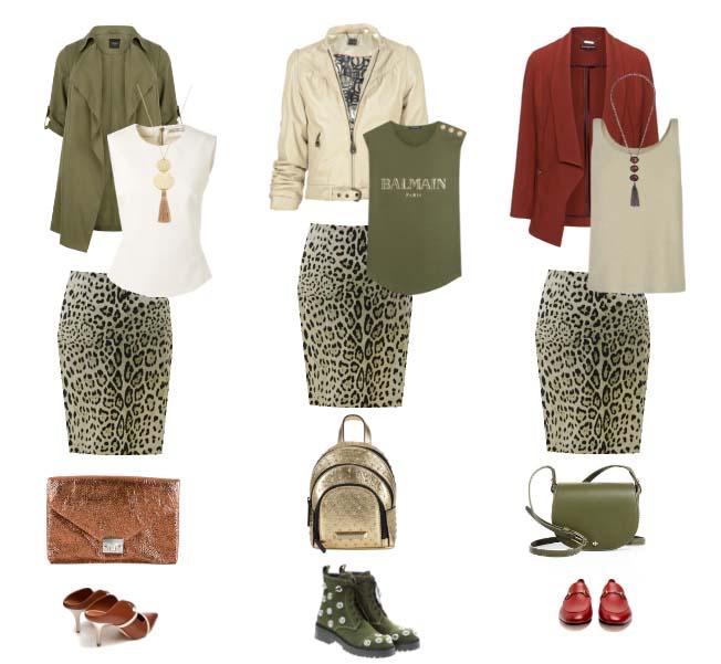 юбки-леопард