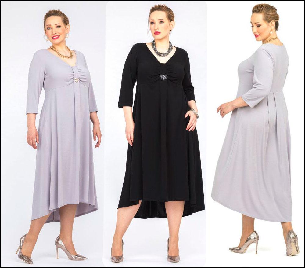 платье большого размера для полных