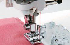 Подшивка низа потайным швом на швейной машине