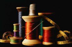 Машинные иглы и нитки для шитья одежды