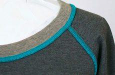 Отделка и шитьё одежды плоскими швами