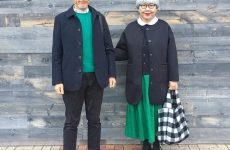 Японская пара одевается в стиле family look