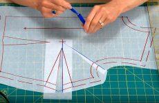 Дефекты кройки и шитья. Заломы в области проймы