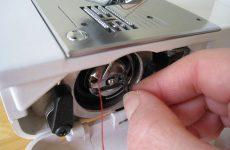 Правильная заправка ниток в машинку— красивая строчка