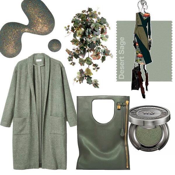 Модный цвет 2016,Desert Sage ,пустынный шалфей