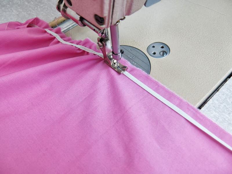 пришивание бельевой резинки