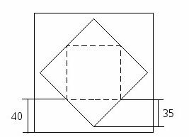 схема скатерть-наперон