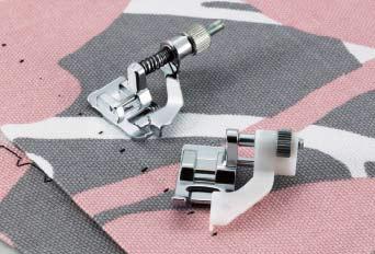 лапки для подшивки потайной строчкой