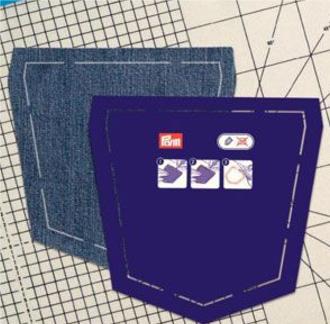 шаблон накладного кармана