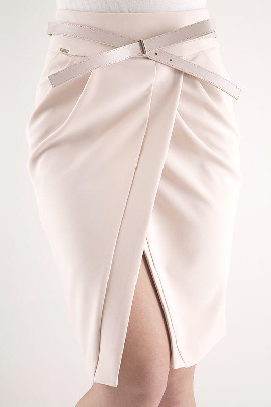 юбка-тюльпан