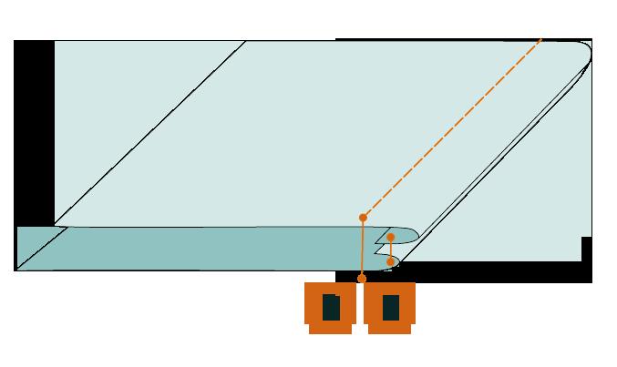 двойной выворотный шов