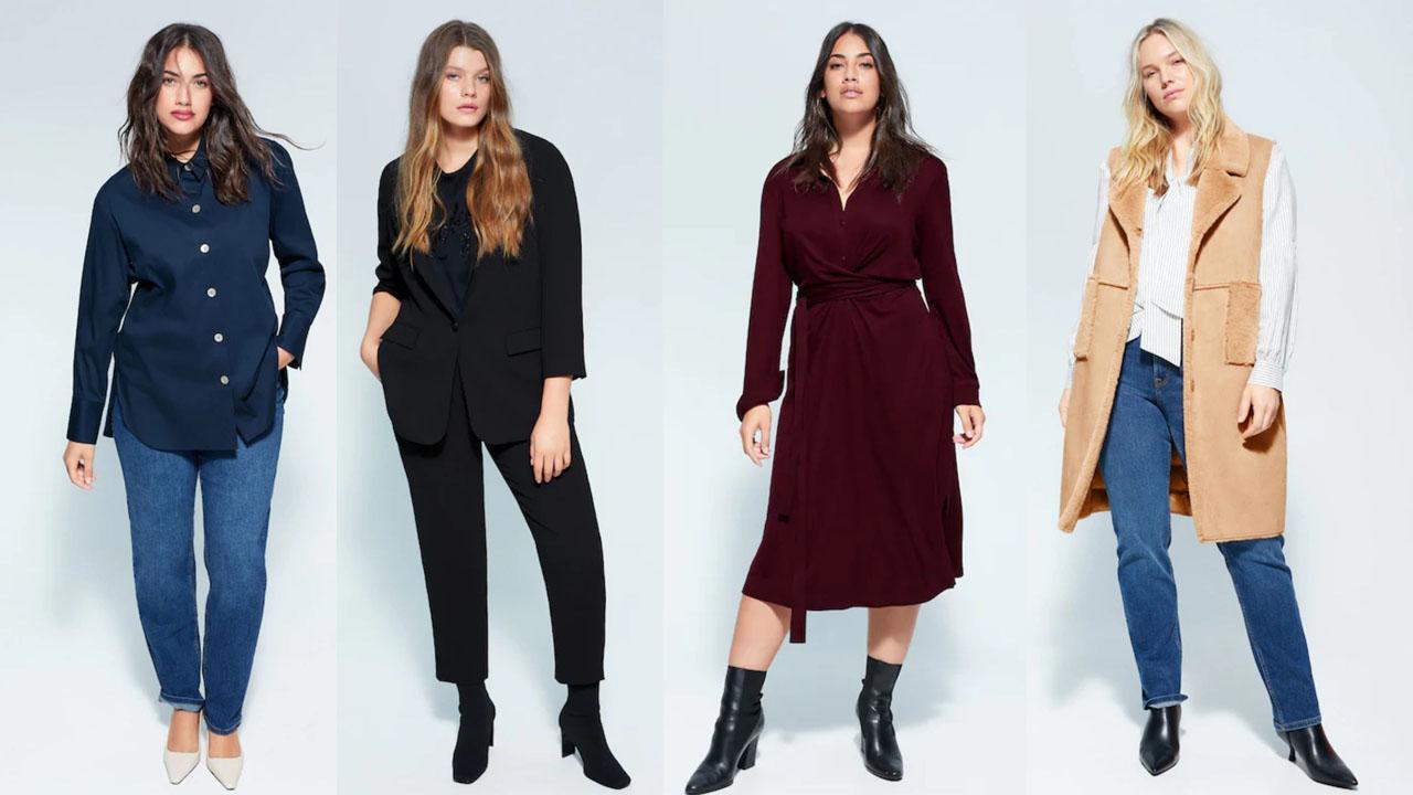 Одежда, мода для полных
