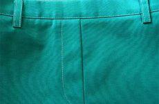 Ложная застежка в брюках и юбке