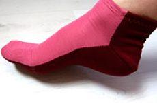 Носки-тапочки из остатков трикотажа или ненужных вещей