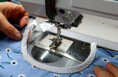 Окантовка горловины на швейной машине