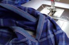 Как подшить низ двух/трехигольной строчкой на швейной или распошивальной машине