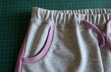Карманы в трикотажных шортах, брюках или даже юбках